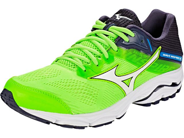 Mizuno Wave Inspire 15 Shoes Herrer, green gecko/white/graphite